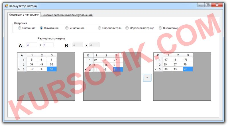 Программа Visual Basic .NET 2008
