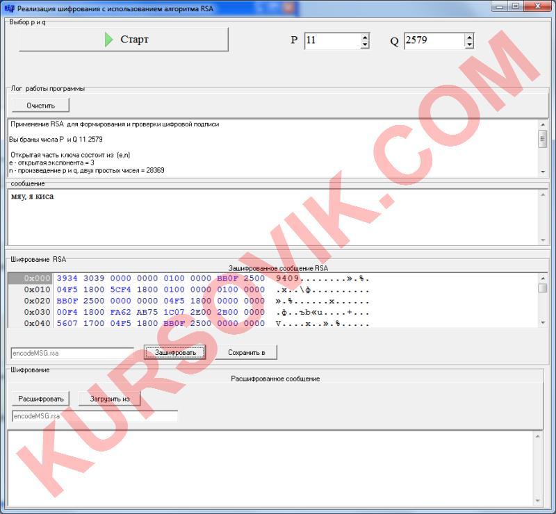 RSA шифрование открытый ключ криптография шифр криптографическая система