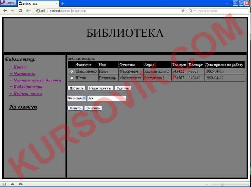 Курсовая работа на тему создание сайта php по продвижению сайтов сегодня я хочу