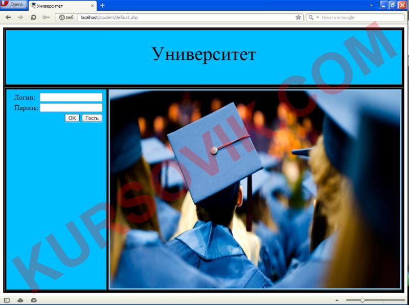 Информационный портал студента и преподавателя (web-приложение)
