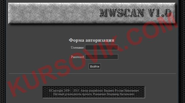 Разработка пассивной системы внутренней защиты веб-ресурсов