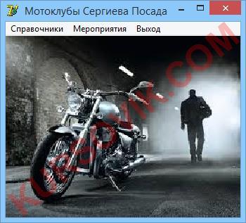 """ИС """"Мотоклубы"""""""