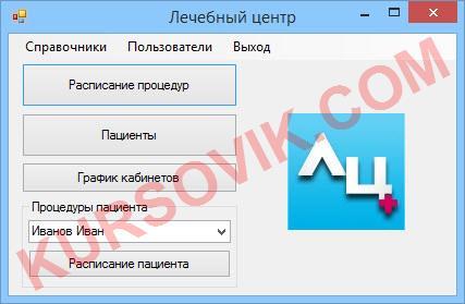 Курсовая работа Visual C# .NET 2015