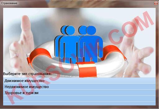 Cистема поддержки принятия решений по выбору вида страхования